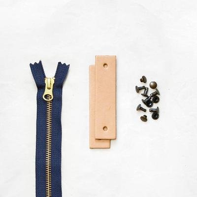 Klum House - Woodland Leather + Hardware Kit (Tan)