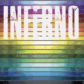 Fat Quarter bundle - Giucy Giuce - Inferno  (20 count)