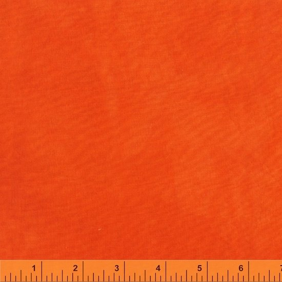 Palette by Marcia Derse - Bright Orange Solid