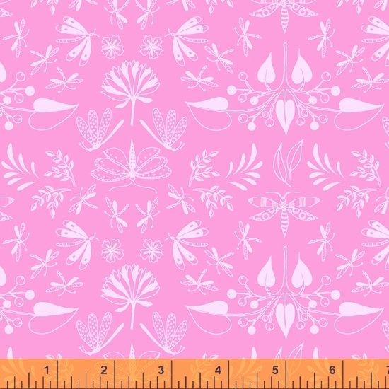 Tamara Kate - Windham Fabrics - Aerial (Pink WIngspan)