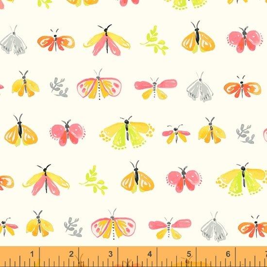 Tamara Kate - Windham Fabrics - Aerial (Ivory Petites Betes)