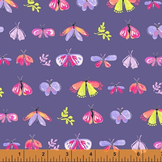 Tamara Kate - Windham Fabrics - Aerial (Blue petites Betes)