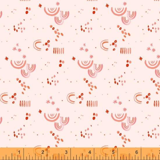 Tamara Kate - Windham Fabrics - Aerial (Blush Aerial Embellishment)