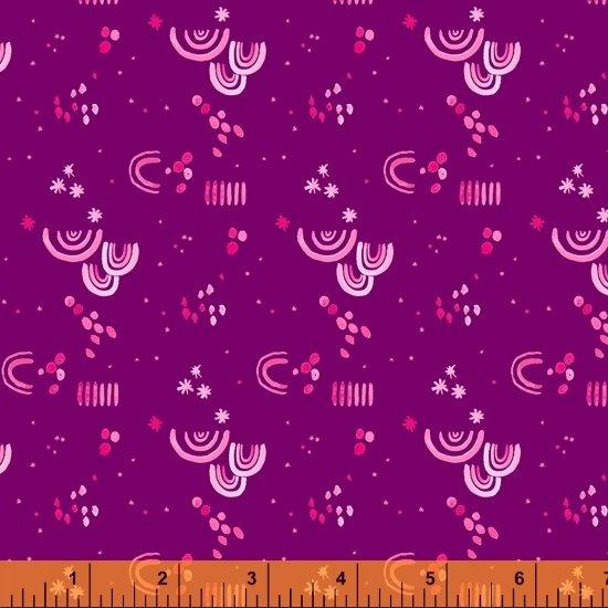 Tamara Kate - Windham Fabrics - Aerial (Purple Aerial Embellishment)