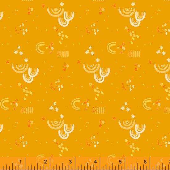 Tamara Kate - Windham Fabrics - Aerial (Ochre Aerial Embellishment)