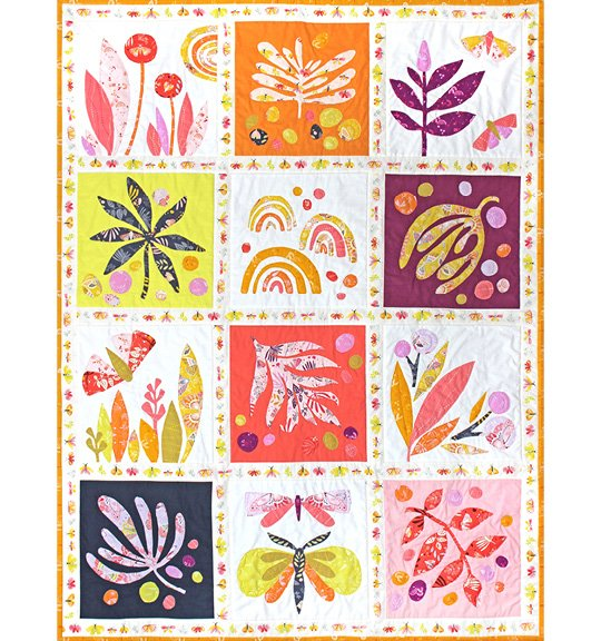 Tamara Kate - Aerial -  Lovely Day Quilt Kit