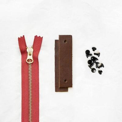 Klum House - Woodland Leather + Hardware Kit (Brown)