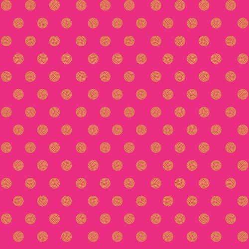 Alison Glass Sun Print 2016 - Sphere (Ruby)