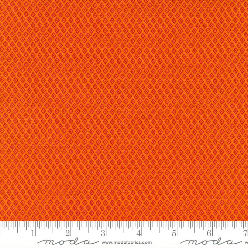 Stacy Iest Hsu - Jungle Paradise - Geometric Diamond Dot (Orange)