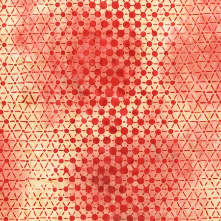 Pop Dot Batik (Carmine)