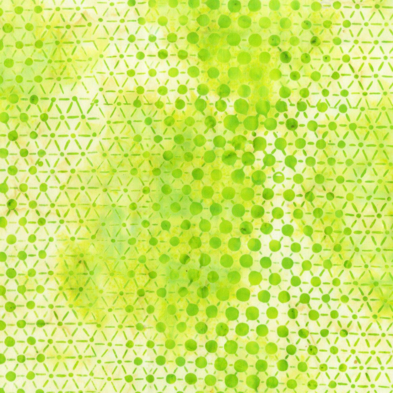Pop Dot Batik (Chartreuse)