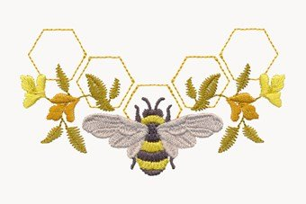 Royal Bee Monograms - USB Design
