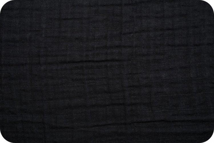 Shannon Fabrics Embrace Double Gauze (Black)