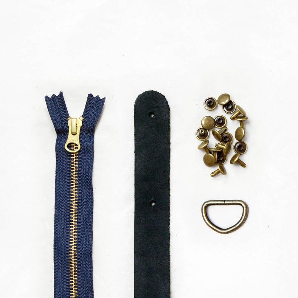 Klum House - Fremont Leather + Hardware Kit (Black)
