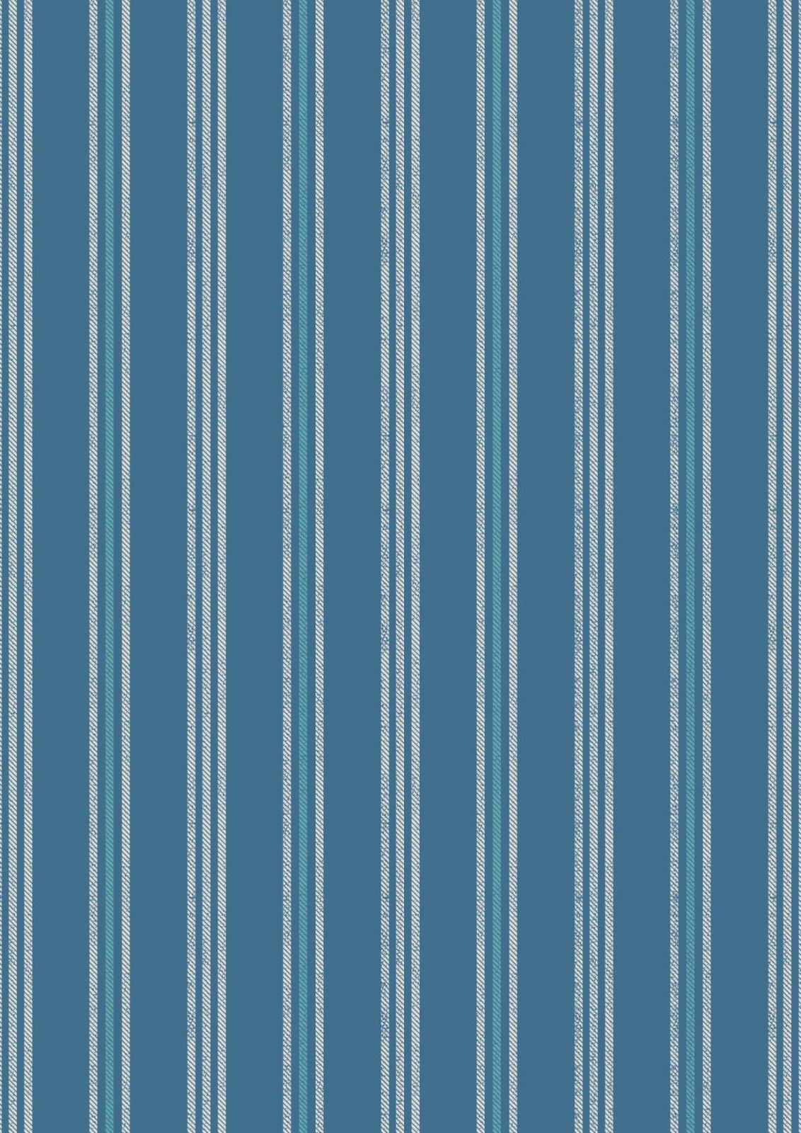 Thalassophile - Coastal Stripe (Dark Blue)