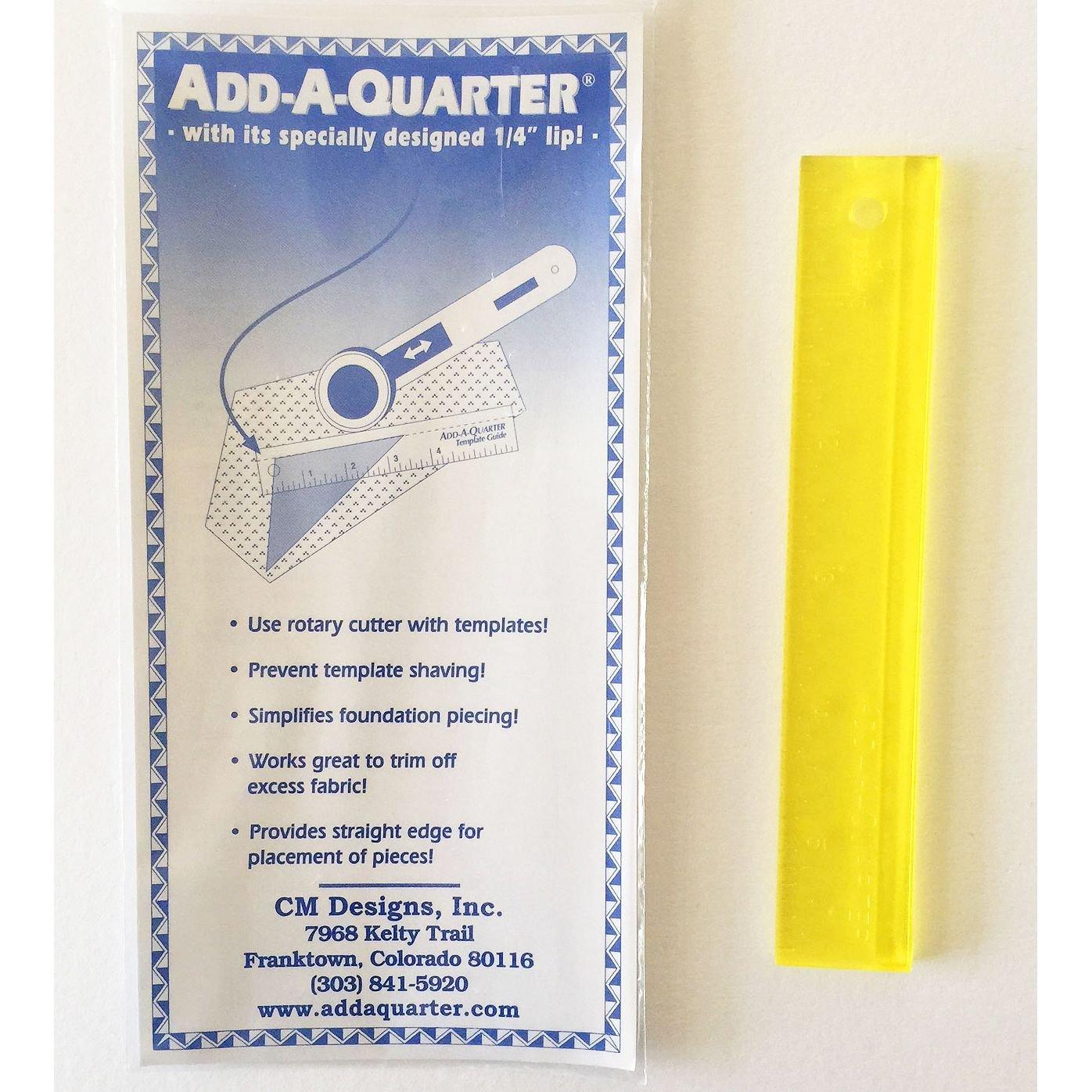 Add-A-Quarter Ruler - 1 x 6