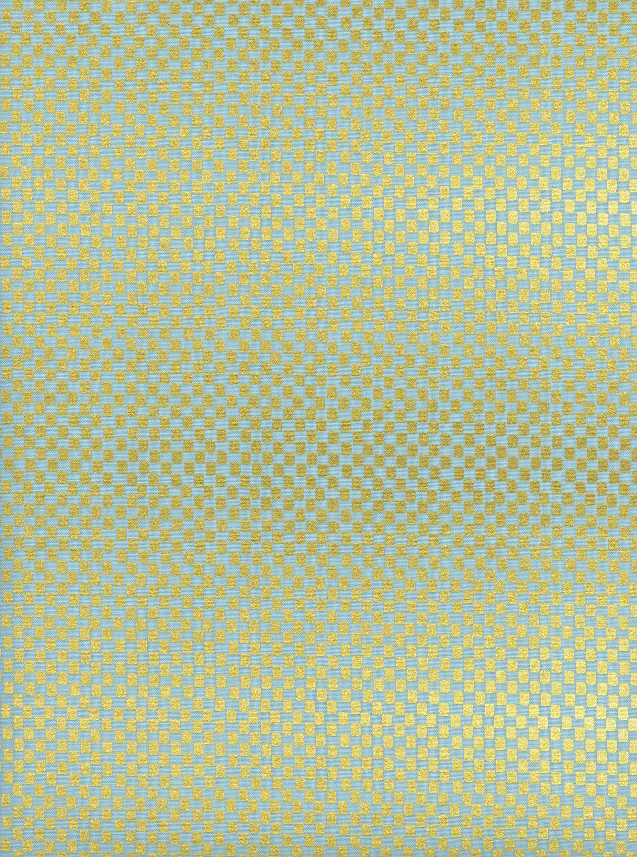 Rifle Paper Co. Amalfi - Checkers (Mint Metallic)