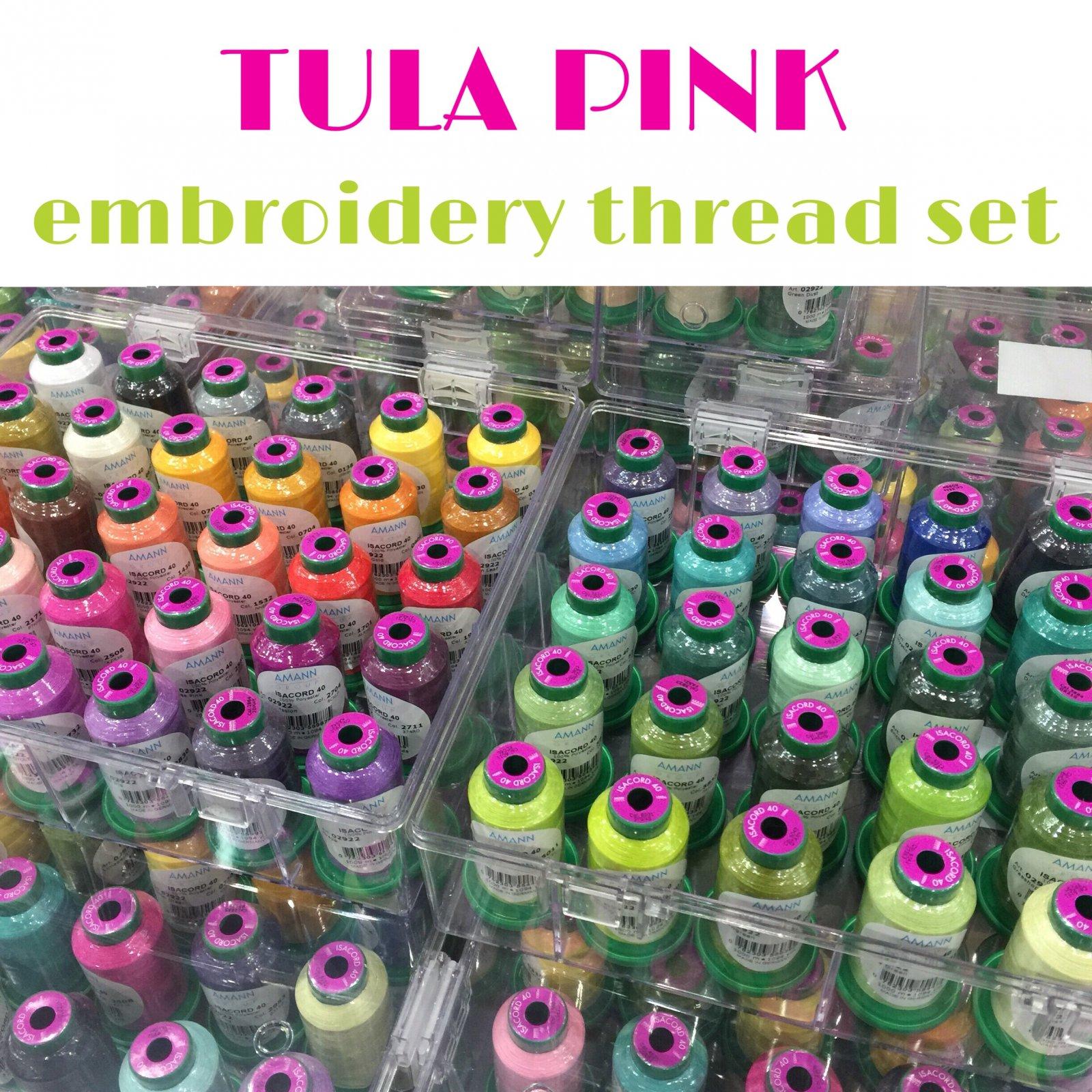 Tula Pink Thread Set
