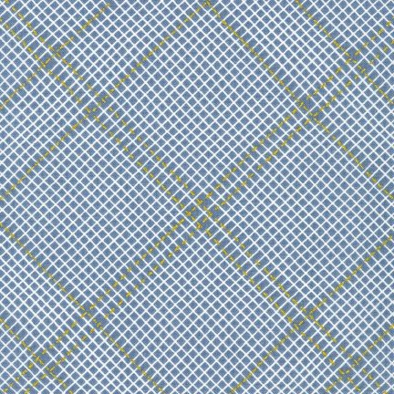 Carolyn Friedlander - Collection CF Grid Group (Shitake)