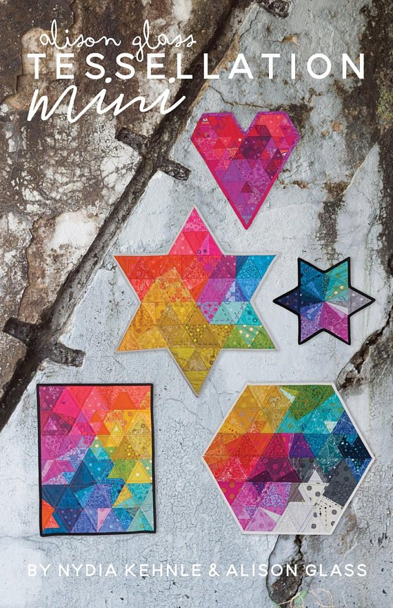 Tessellation Mini Quilt by Alison Glass