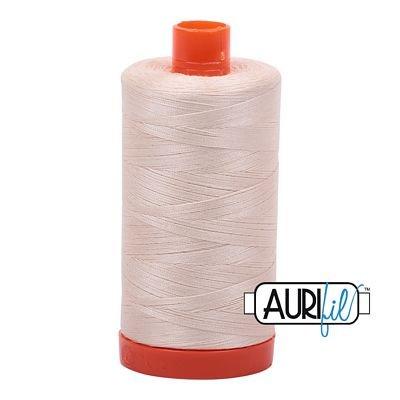 Aurifil Thread Mako 50wt 1300m (Light Sand)