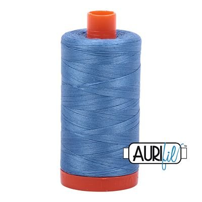 Aurifil Thread Mako 50wt 1300m (Light Wedgewood)