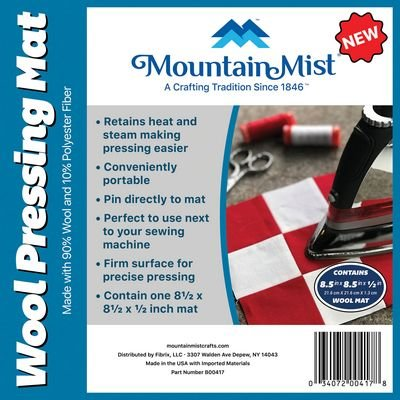 Mountain Mist - Wool Mat 8.5 inch X 8.5 inch