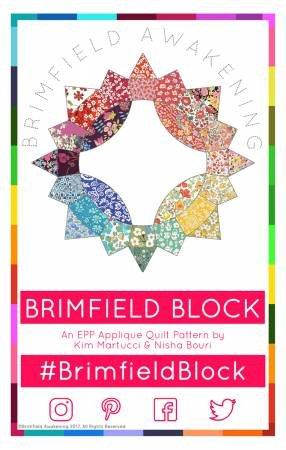 TPaper Pieces - The Brimfield Star - EPP Pattern
