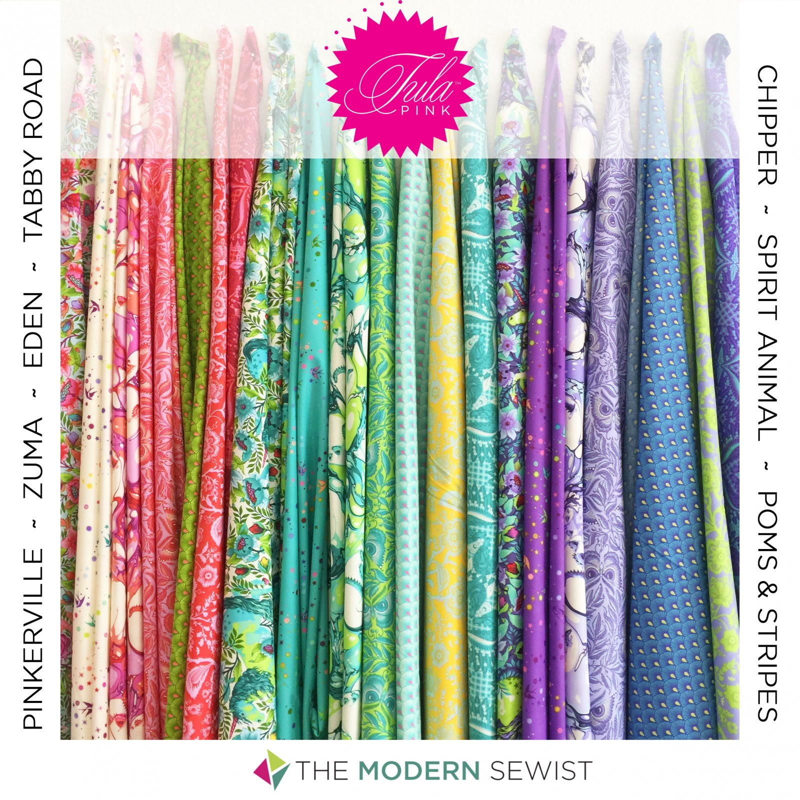Tula Pink Designer Bundle - 45 Fat Quarters