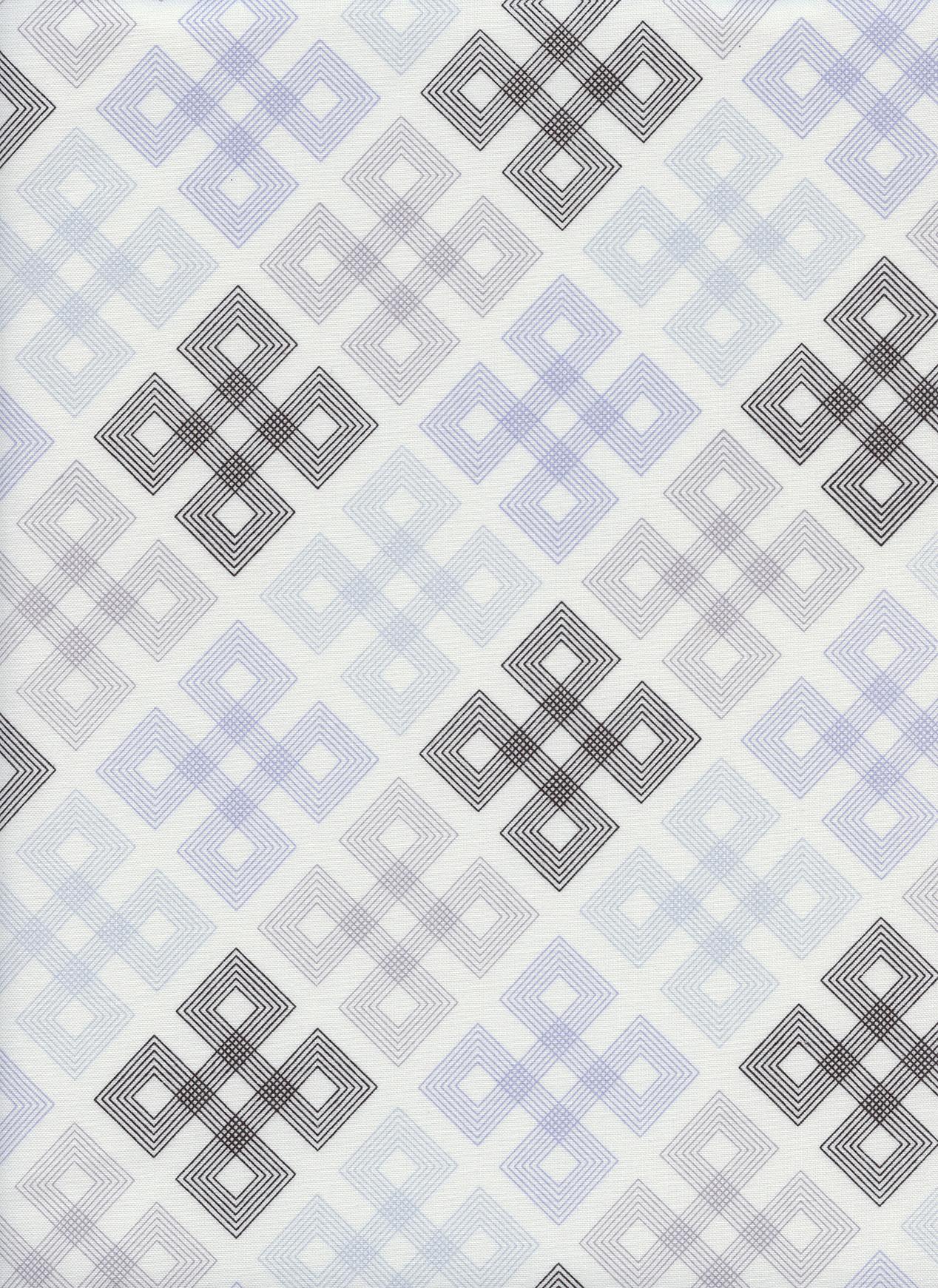 Cotton+Steel Panorama - Geo Twirl (Dust)