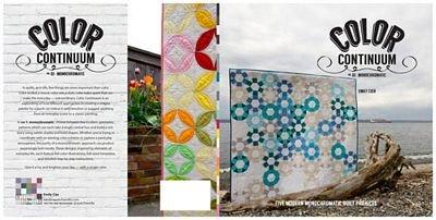Color Continuum No. 1 - Monochromatic - Carolina Patchworks