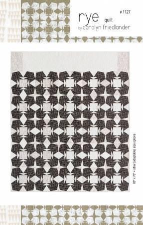 Carolyn Friedlander  - Rye Quilt Pattern