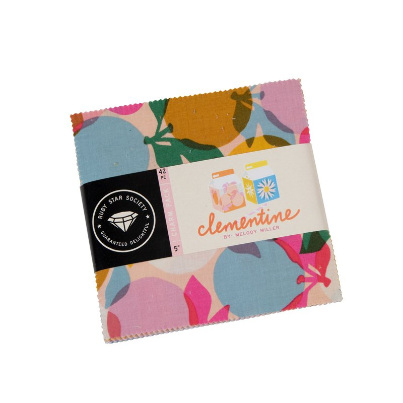 Charm Squares - Ruby Star Society - Melody Miller - Clementine (42 PCE)