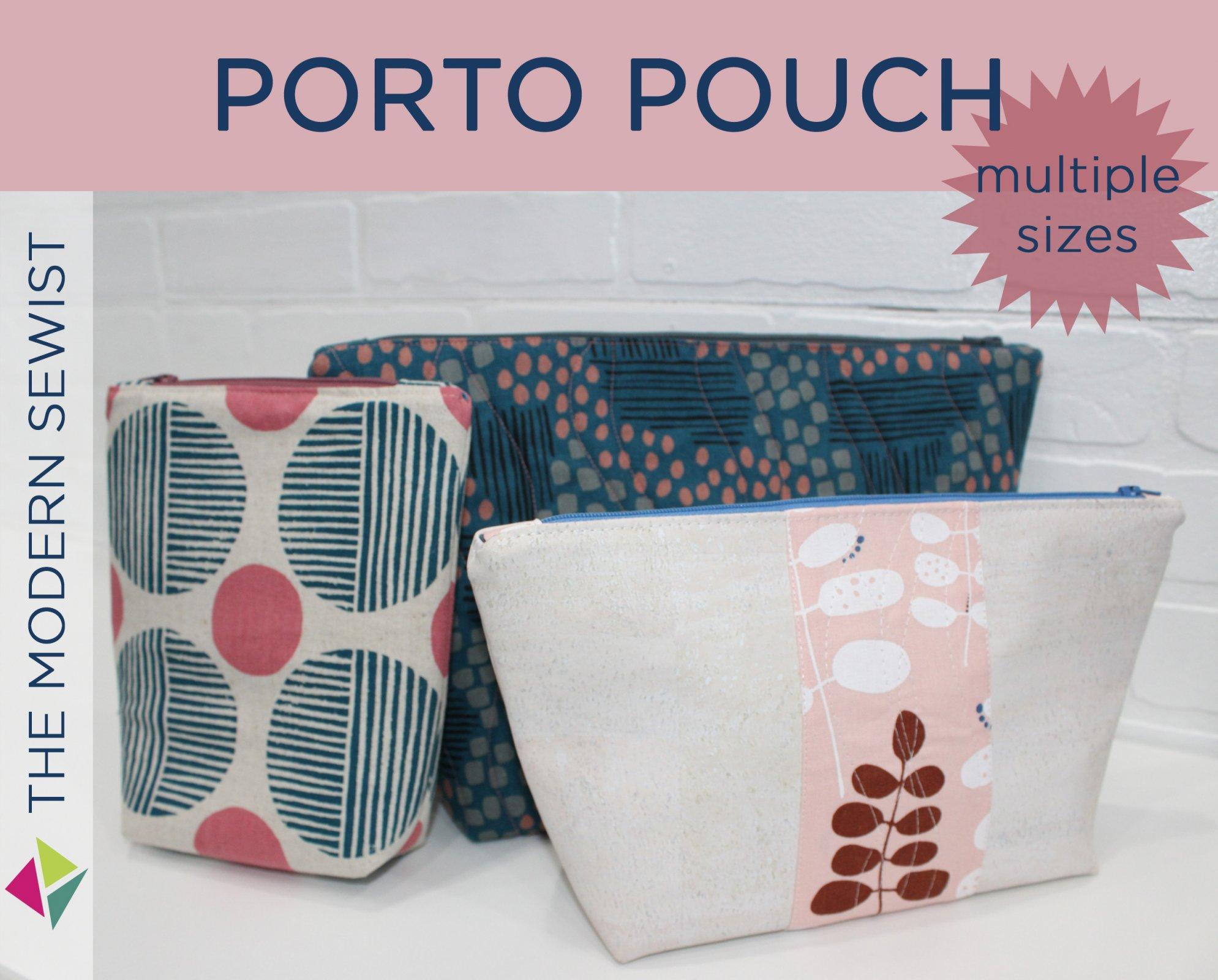 Clobird Designs - The Porto Pouch - PDF Pattern