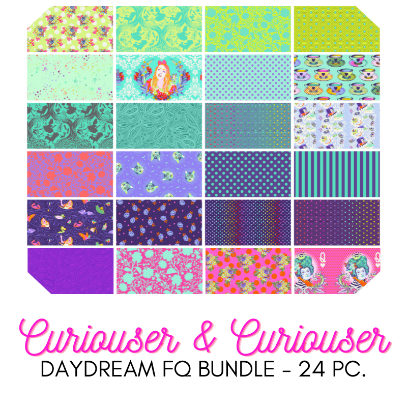 FQ Bundle - Tula Pink -  Curiouser and Curiouser (Daydream)