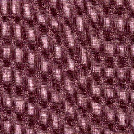 Yarn Dyed Metallic Essex Linen (Burgandy)