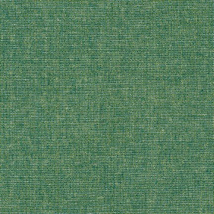 Yarn Dyed Metallic Essex Linen (Emerald)