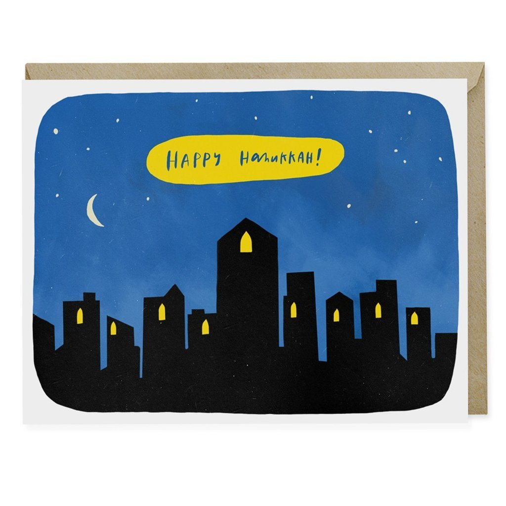 Emily McDowell - Hanukkah City Card