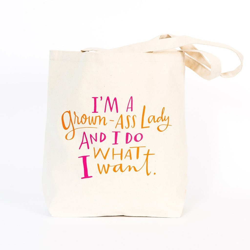 Emily McDowell - Grown-Ass LadyTote Bag
