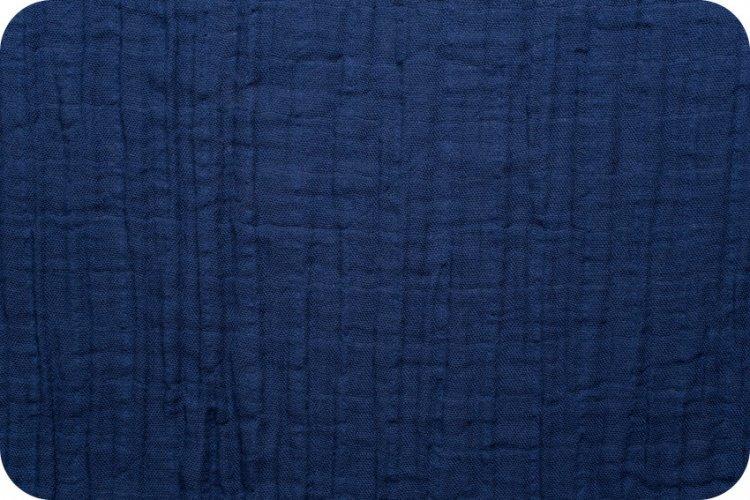 Shannon Fabrics Embrace Double Gauze (Cobalt)
