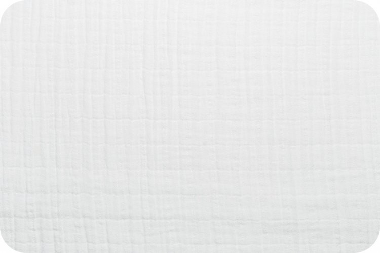 Shannon Fabrics Embrace Double Gauze (Snow)