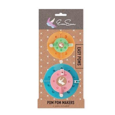 Eversewn Pom Pom Maker - 4pc.