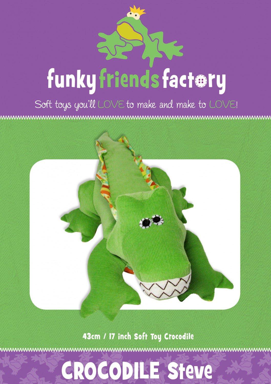 Funky Friends - Crocodile/Alligator Steve