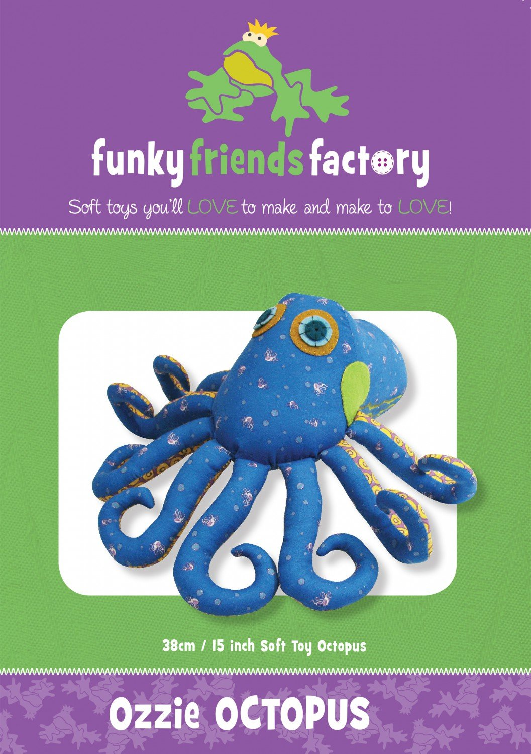 Funky Friends - Ozzie Octopus