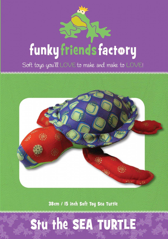 Funky Friends - Stu Sea Turtle