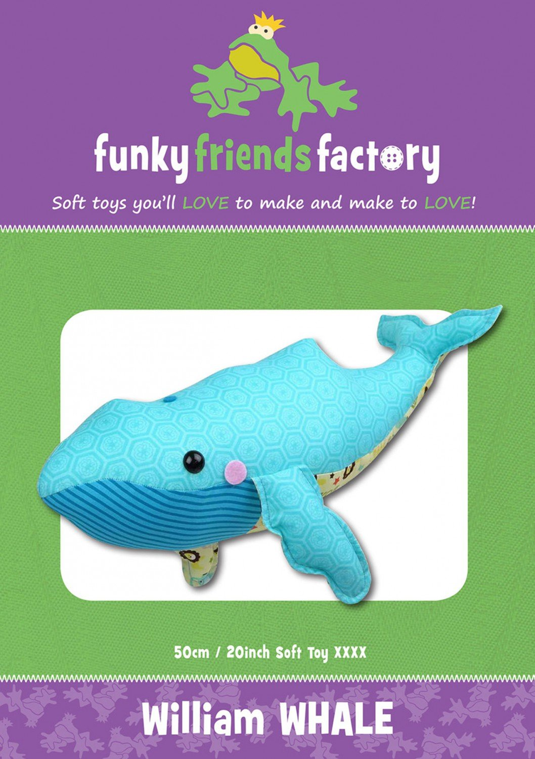 Funky Friends - William Whale