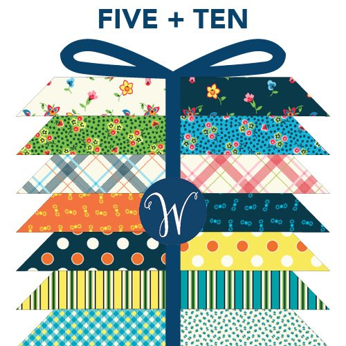 FQ Bundle -  Denyse Schmidt- FIVE AND TEN (19 Prints)