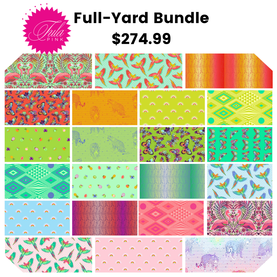 PRE-ORDER Tula Pink Daydreamer - 1 yard bundle