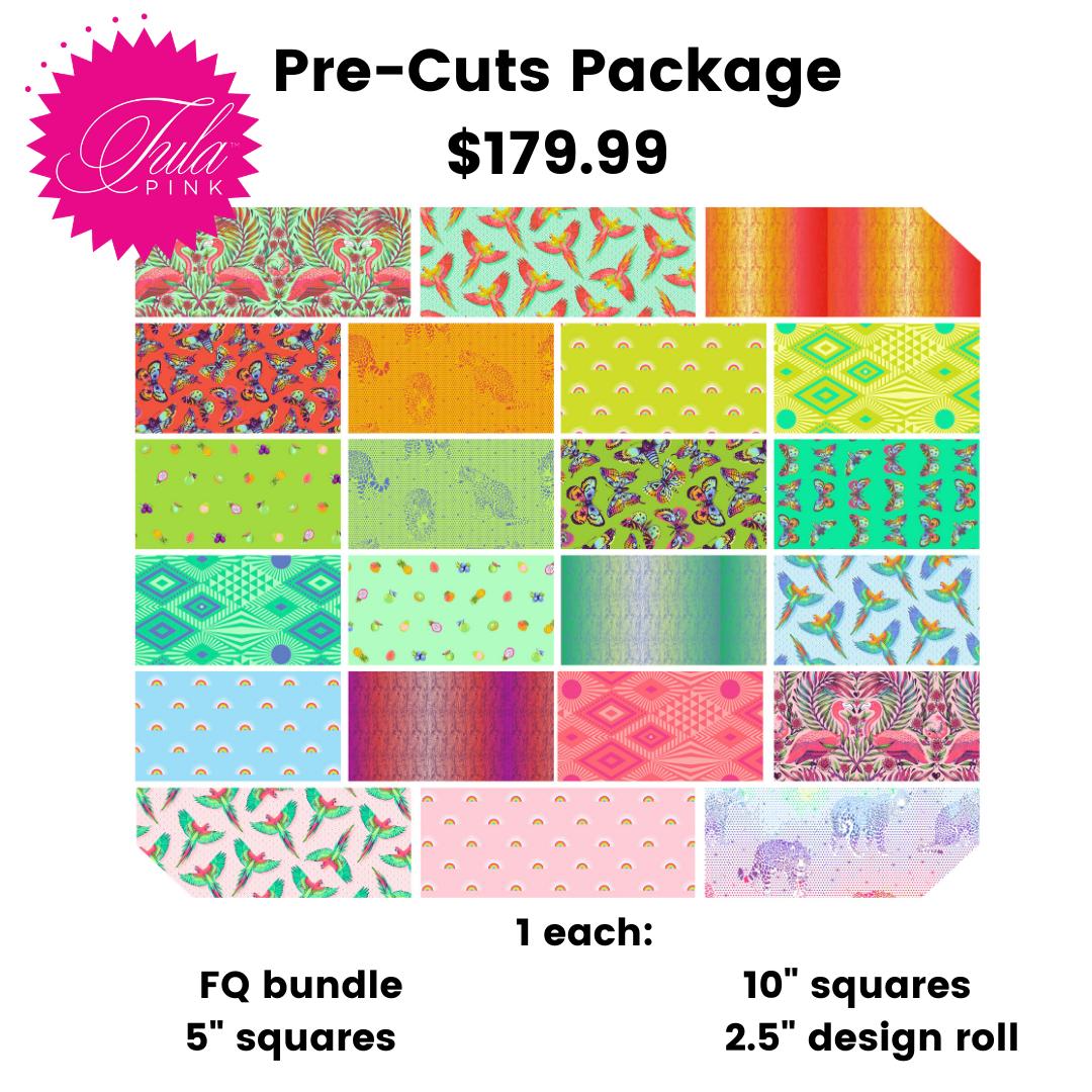PRE-ORDER Tula Pink Daydreamer - Pre-Cuts Bundle