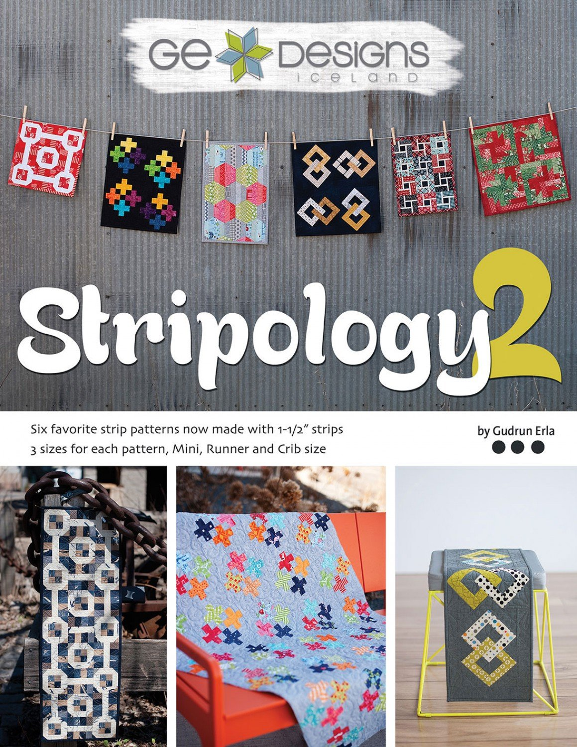 Stripology 2-GE Designs- Gudrun Erla